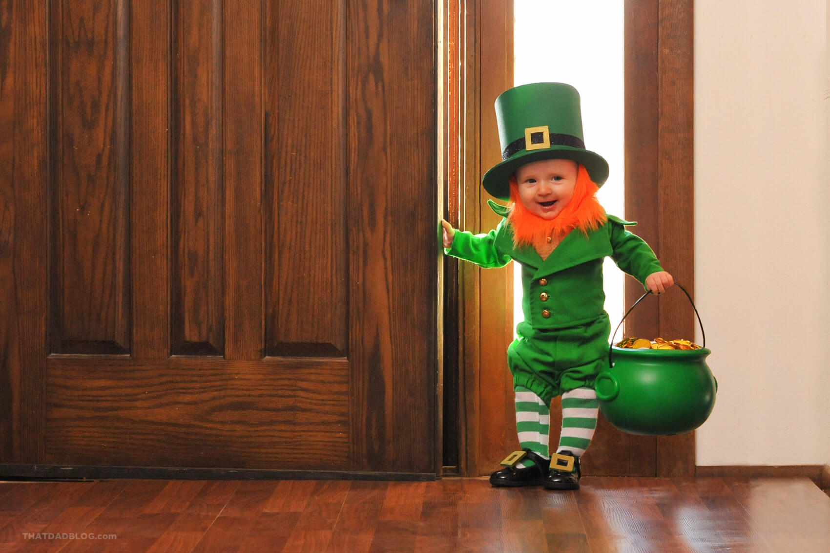 real life leprechaun that dad blog
