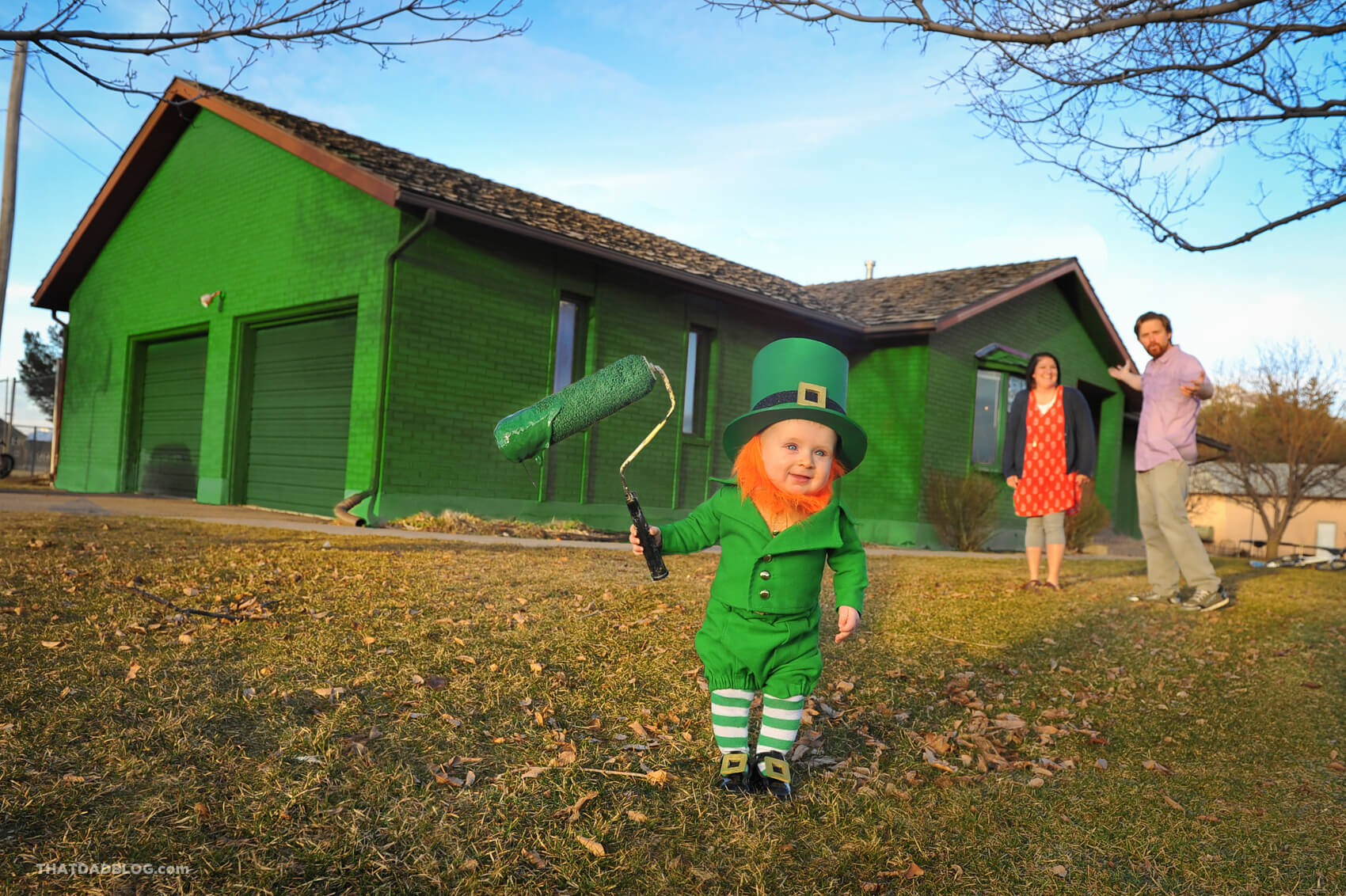 Real life leprechaun that dad blog for Real house