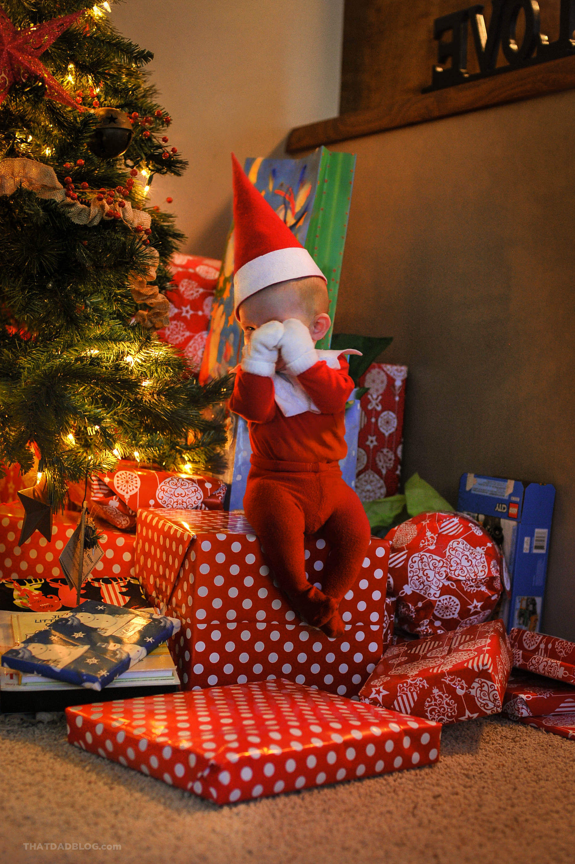 Christmas Elf On The Shelf Funny.Getting The Elf Back To Santa That Dad Blog